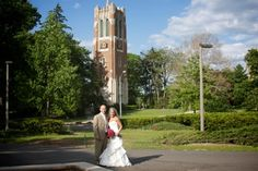 Wedding Location: MSU Beaumont Tower. http://tsaphoto.com #wedding #photography