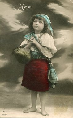 Vintage French Girl