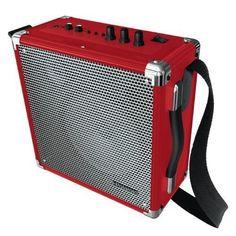 Wireless PA w/ BT speaker RED