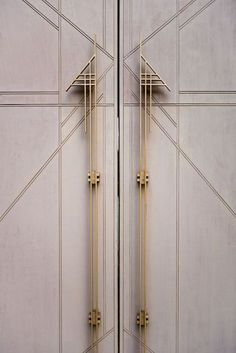 Doors from Marty Leonard Chapel, Fay Jones, Fort Worth, Texas - Architect Wright Architecture Geometric Sarah Whittaker (=)