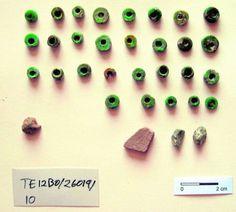 Cuentas de un collar de la Edad de Bronce  (Terrinches, Ciudad Real)
