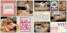Super Cute!! Scrapbook ideas and kits for purchase!!