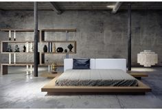 Walnut Worth Bed