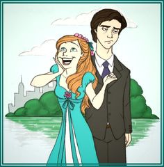 Sketch nº asked for Giselle and Robert from Enchanted and here they are. I liked this a lot when I first drew it, but now it's like, meh. Enchanted for RighteousBabet Disney Princess Art, Disney Fan Art, Disney Love, Giselle Enchanted, Disney Enchanted, Disney Films, Disney Pixar, Disney Characters, Pocket Princesses