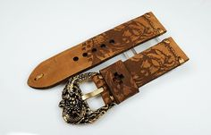 Accessory Vendors' Market: FS : Engraving Straps - Handmade leather straps with special engraving Collection