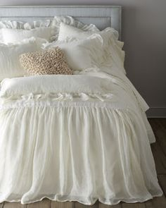 "Pine Cone Hill ""Savannah"" & ""Madeline"" Bed Linens at Courtney and Company"
