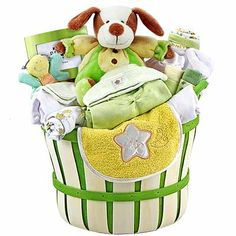Baby shower idea or just something cute to sit in a baby room.