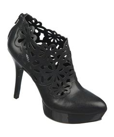 Take a look at this Black Linz Boot by Carlos by Carlos Santana on #zulily today!