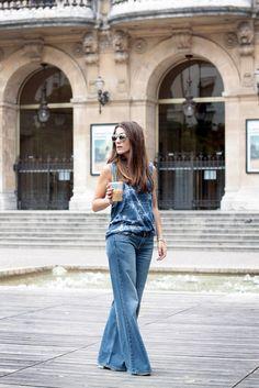 Blue Flare Jean - Lucinda - Blog Mode Lyon - Voyage - Tendances - Beauté - Le Blog Mode de Lucinda