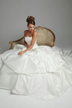 The fairy tale wedding gown