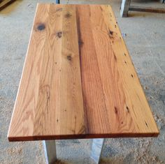 Reclaimed Wood Countertop | Antique Oak | Rubio Monocoat Pure Finish