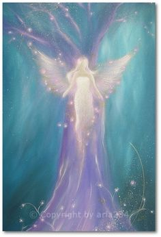 Limited angel art photo its in yourself modern by HenriettesART