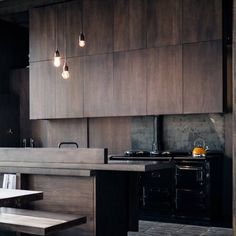 Amazing Modern and Contemporary Kitchen Cabinets Design Ideas Contemporary Kitchen Cabinets, Black Kitchen Cabinets, Kitchen Cabinet Design, Black Kitchens, Modern Kitchen Design, Home Kitchens, Kitchen Black, Wood Cabinets, Apartment Kitchen