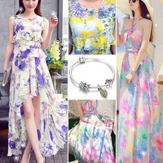 Graceful Maxi Summer OutFits Collection 2015 For Girls Summer Outfits Women Over 30, Girls Maxi Dresses, Curvy Fit, Fashion News, Designer Dresses, Party Dress, Mornings, Parties, Colorful
