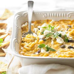 Greek-Style Mac 'n' Cheese From Better Homes and Gardens, ideas and improvement projects for your home and garden plus recipes and entertaining ideas.