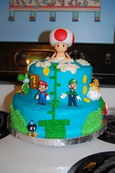 Community: 57 Awesome, Terrifying, And Endearing Super Mario Cakes