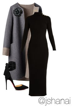 """""""Day church"""" by jbyrddaniels on Polyvore featuring Balmain, Christian Louboutin and Chanel"""