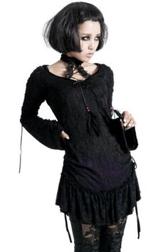 Moonspell Gothic Top by Punk Rave
