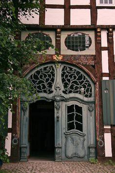justcallmegrace:    Beautiful door (Open Air Museum Detmold)