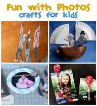 Kids Crafts with Photos