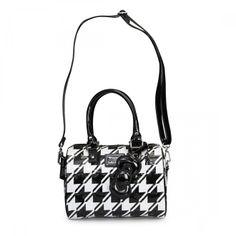 Hello Kitty Houndstooth Emboss Mini City Bag