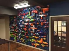 Nerf at Work                                                                                                                                                                                 More