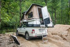 Photos d'aménagements : le fourre-tout. - Page 1080 Pickup Camper, Rv Campers, Camper Trailers, Camper Van, Cape Cod Camping, Folding Campers, Pick Up, Off Road Camper, Kabine