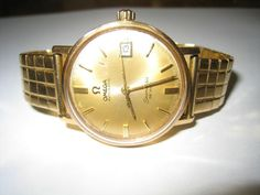 Omega Seamaster DE Ville 18KT Gold Vintage Watch Automatic | eBay Omega Seamaster, Automatic Watch, Wristwatches, Vintage Watches, Gold Watch, Bracelet Watch, Bracelets, Accessories, Ebay