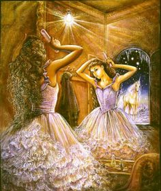 Mirror Image ~ by Josephine Wall