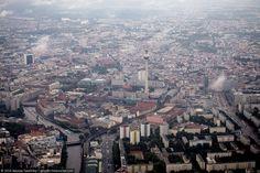 Берлин с вертолета — IMG! Картинки из интернета