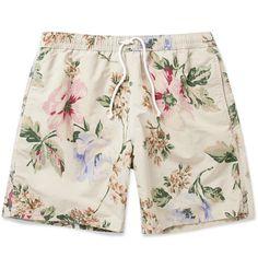 HartfordMid-Length Flower Print Swim Shorts|MR PORTER
