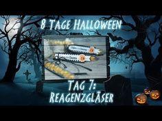 8 Tage Halloween - Tag 7 - Reagenzgläser mit Produkten von Stampin' Up! - YouTube