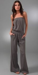 How I'd love to rock a jumpsuit.