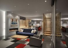 soluzione per come arredare un soggiorno rettangolare con divano ...