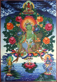 Green Tara my next tattoo
