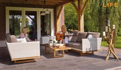 Lounge set Slide | Tuinmeubel Collectie | LIFE Outdoor Living