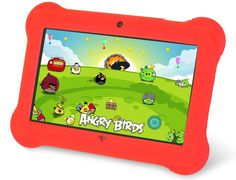 Orbo Jr. 4GB Android 4.1 - 5 Point Multi Touch Tablet PC - Kids Edition [March 2014] - Red