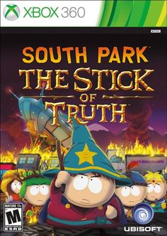 BRAND NEW FACTORY SEALED SOUTH PARK THE STICK OF TRUTH (MICROSOFT XBOX 360)
