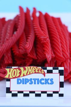 Hot Wheels / Race Car Birthday Party - Food Ideas