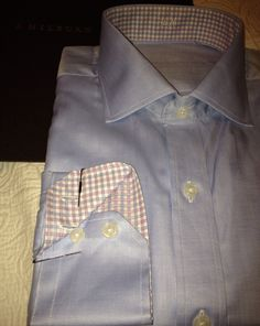Love starting my day with a brand new custom shirt for work! This one showed up last night! #jhilburn #customshirt #style #swag #swagg #fashionformen #menswear #mensstyle #mensclothing #jhilburnshirt #shirting #shirts