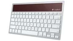 Logitech's Latest Solar-Powered Wireless Keyboard Switches Between All Your Apple Devices on the Fly