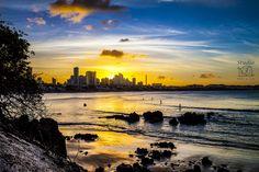 Natal (RN) - Pôr do Sol em Ponta Negra  Foto: RQ Serra   @diegotrambaioli