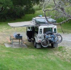 Land Rover Defender 110 Camping Adventure.