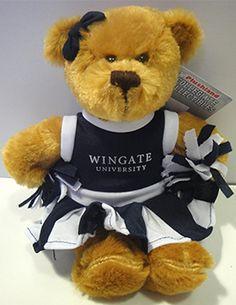 Cheerleading Teddy Bear. $9.99.  Order now & ship today! Call 704-233-8025.