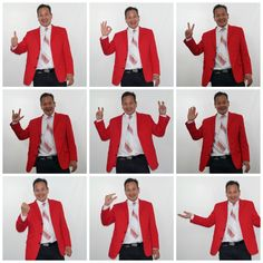 """Working on some ideas for my new show...  """"Loc Tran, Anchorman - Random News About Stuff""""  Coming soon to the Adelaide Fringe 2018!  #adlfringe"""
