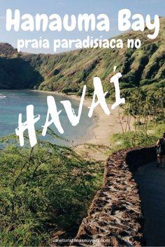 A paradisíaca praia de Hanauma Bay fica localizada na ilha de Oahu no Havaí. No ano de 2016 ela foi classificada como uma das praias mais belas dos Estados Unidos. Para quem gosta de mergulho, ela é perfeita para snorkeling. Como a visibilidade da água é ótima, é possível ver vários peixinhos de várias espécies e até mesmo tartarugas.