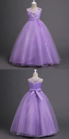 Only $39.9, Cheap Flower Girl Dresses Cheap Floral Lilac Flower Girl Dress Long for Juniors #QX-708 at #GemGrace. View more special Flower Girl Dresses,Cheap Flower Girl Dresses now? GemGrace is a solution for those who want to buy delicate gowns with affordable prices, a solution for those who have unique ideas about their gowns. 2018 new arrivals, shop now!