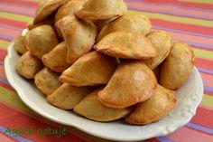 Polish Recipes, Polish Food, Snack Recipes, Snacks, Dumplings, Sweet Potato, Food And Drink, Potatoes, Pierogi