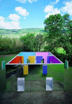 Country house by Daniel Buren