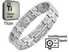 URANUS - pánsky titánový naramok - titán, dĺžka: 21cm Titanic, Bracelet Watch, Bracelets, Accessories, Calvin Klein, Luxury, Bracelet, Bangles, Bangle